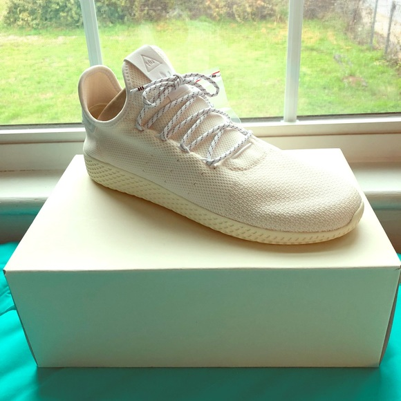 781b05317b9d8 NIB Adidas Pharrell Williams Hu Holi White 11.5
